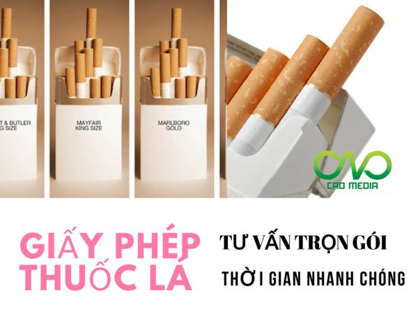 Thủ tục cấp giấy phép bán lẻ thuốc lá cho cửa hàng